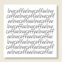 Karten-Set 'Love Coffee'