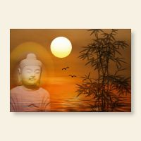 Grußkartenset Buddha Sunset Geist und Geschenk
