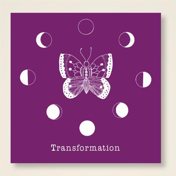 Grusskarten Set 'Transformation' klassisch