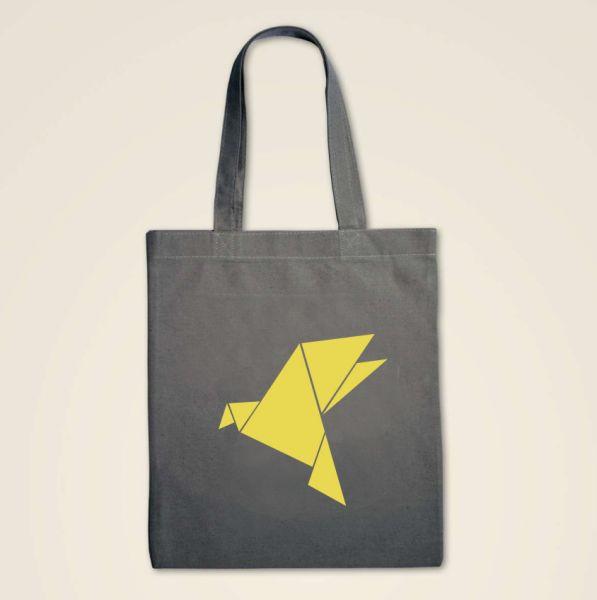 Stofftasche Origami 'Kranich'