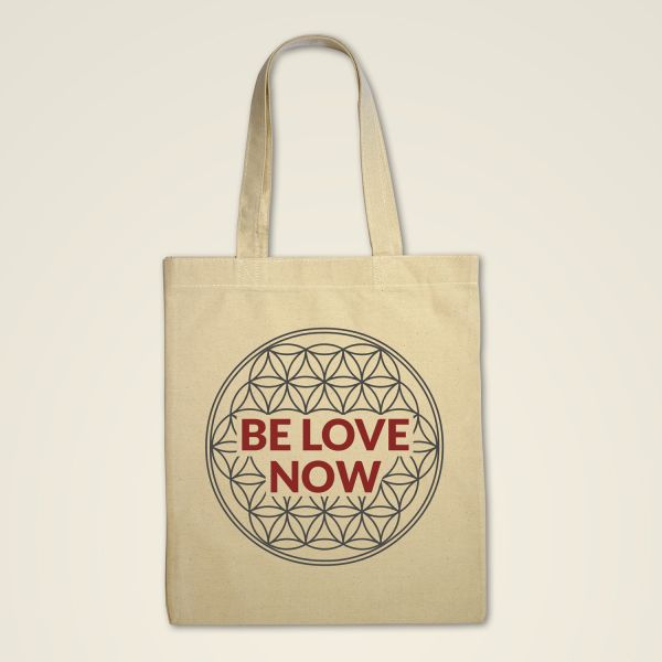 Stofftasche 'BE LOVE NOW'