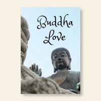 Grußkartenset Buddha Love Geist und Geschenk