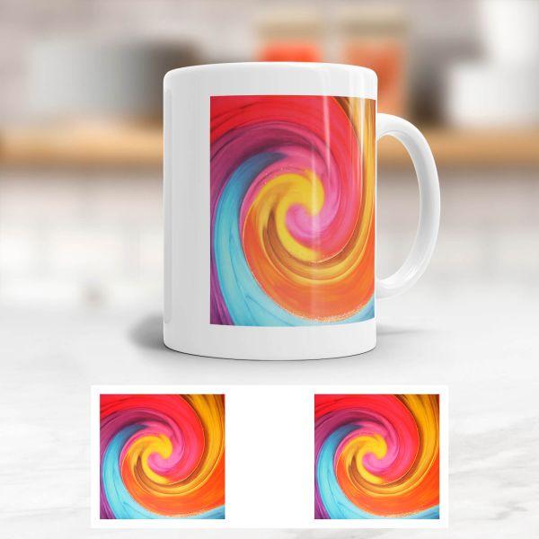 Tasse Energiebilder 'Kindliches Erwachen'