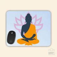 Mousepad bedruckt Yoga Lotus Geist und Geschenk