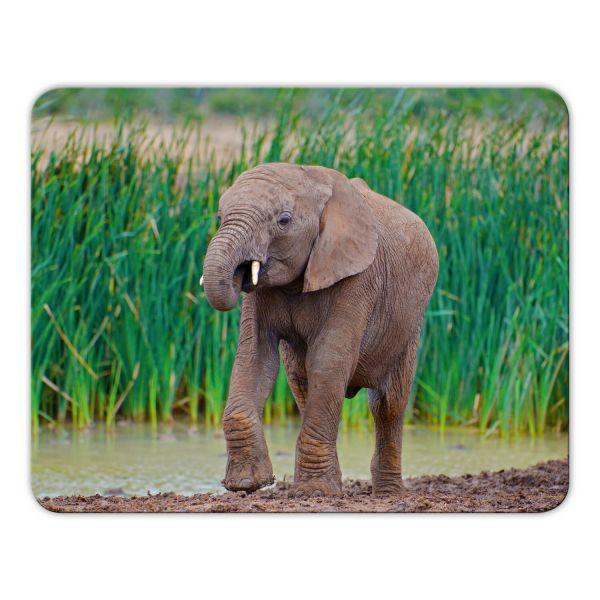 Mousepad bedruckt Elefant Geist und Geschenk Motiv7