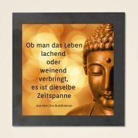 Wandbild Zitat aus dem Zen Buddhismus Geist und Geschenk