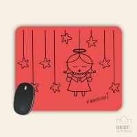 Mousepad bedruckt Angel Innocent Red Geist und Geschenk