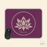 Mousepad bedruckt Namaste Geist und Geschenk