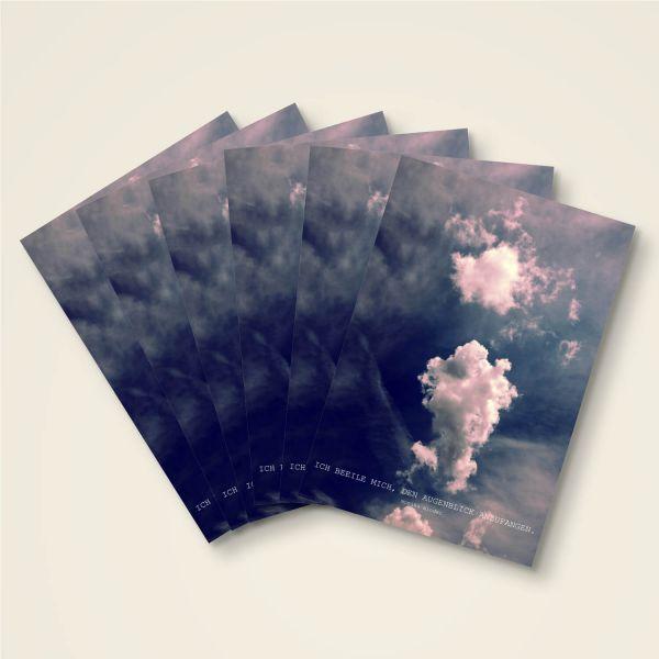 Grusskarten Set 'Ich beeil mich.'