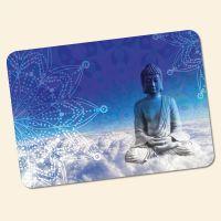 Bedrucktes 6-teiliges Tischset Buddha Blue  Geist und Geschenk