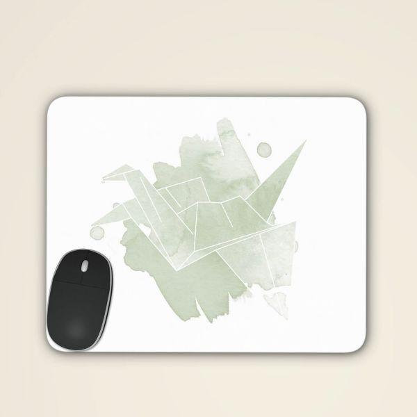 Mousepad online bestellen geist und geschenk origami kranich