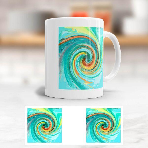 Tasse Energiebilder Carina Zais 'Ausgeglichenheit'