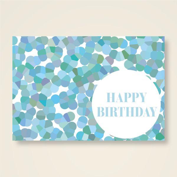 Grusskarten Happy Birthday Geburtstag schenken