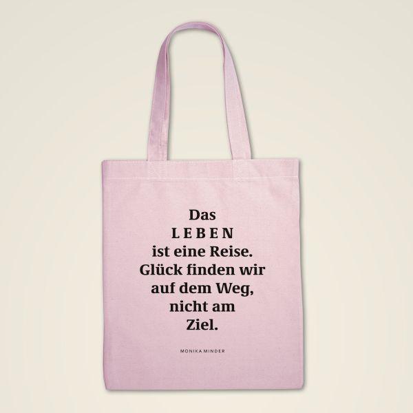 Stofftasche 'Das Leben ist eine Reise'