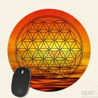 Mousepad-Blume-des-Lebens-Motiv-Svadhisthana-bedruckt-1