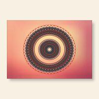 Bedrucktes Grußkarten- Set Mandala Mood Geist und Geschenk