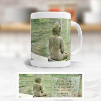 Tasse Buddha Dankbarkeit Geist und Geschenk klassische Form