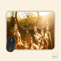 Mousepad bedruckt Traumfänger Sunset Geist und Geschenk
