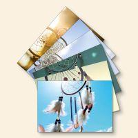 Bedrucktes Grußkarten- Set Traumfänger- Mix Geist und Geschenk