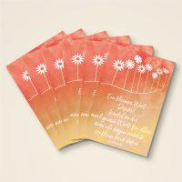 Grusskarten  Set 'Ein kleines Wort - Danke!'