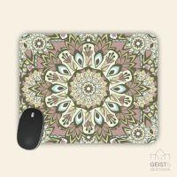 Mousepad bedruckt Mandala Retro Geist und Geschenk