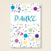 Grusskarten  Set 'DANKE'