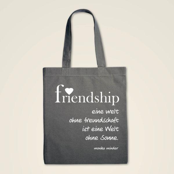 Stofftasche 'Friendship'