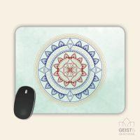 Mousepad bedruckt Mandala Classic Geist und Geschenk