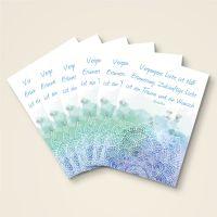 Postkarten-6er-Set-Buddha-Zitat-Erinnerung-Traum-Wunsch-bedruckt-1