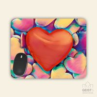 Mousepad eckige Form LOVE Geist und Geschenk