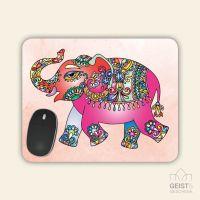 Mousepad rechteckige Form  Elefant Geist und Geschenk