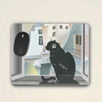 Mousepad bedruckt Modern Art Geist und Geschenk Frontansicht