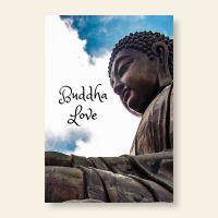 Grußkartenset Buddha Love Wolken Geist und Geschenk