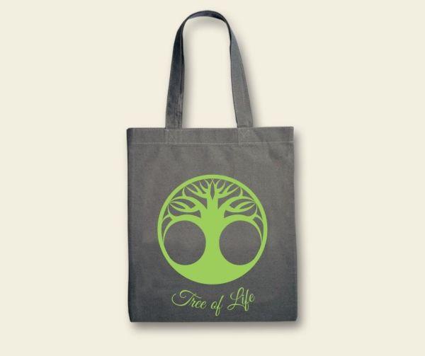 Stofftasche Canvas  Tree of Life Büddel Geist und Geschenk