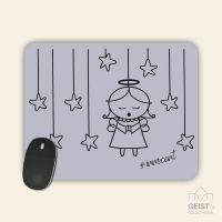 Mousepad bedruckt Angel Innocent Violet Geist und Geschenk