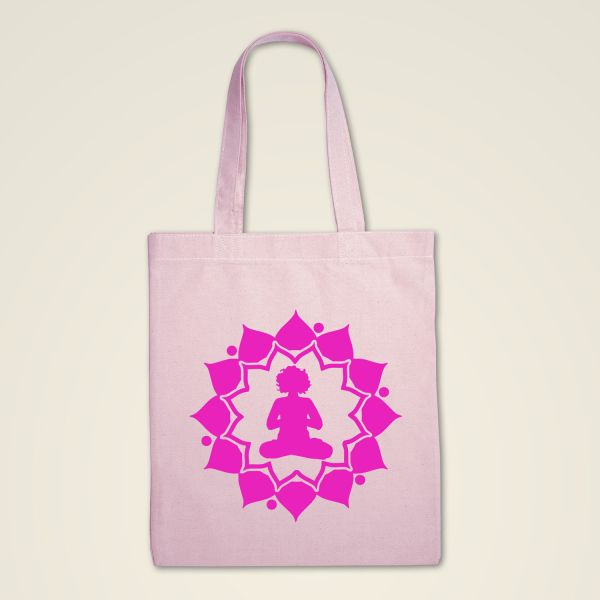 Stofftasche rosa 'Yogini'