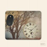 Bedrucktes Mousepad Watch Tree Notes Geist und Geschenk eckige Form