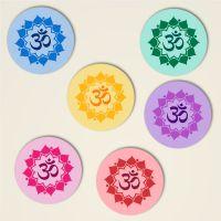 Untersetzer 'Om Mandala'-Komplettset