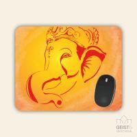 Mousepad eckige Form Ganesha Geist und Geschenk