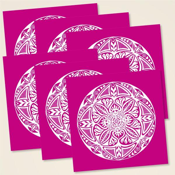 Karten-Set 'Shamanic' Mandala