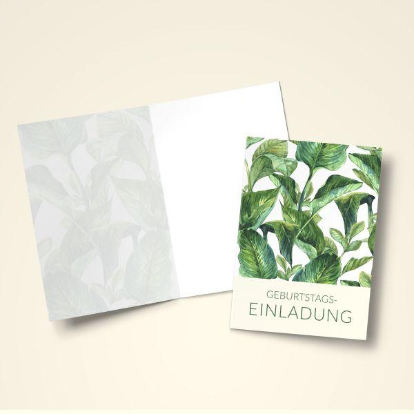 Einladungskarten Set 'Natur'