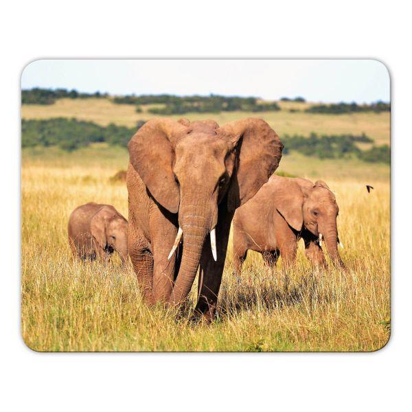 Mousepad bedruckt Elefant Geist und Geschenk Motiv 1