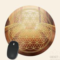 Mousepad-Blume-des-Lebens-Motiv-Sternentor-bedruckt-1