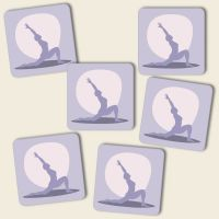 Untersetzer Set Yoga 'Ekadasha'