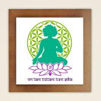 Wandbild 'Yogini Tara'