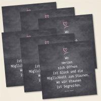Weihnachtskarten-Set 'Wo Herzen sich öffnen'