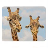Mousepad bedruckte Giraffe Geist und Geschenk
