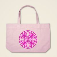 Boatshape Stofftasche Rosa 'Blooming'