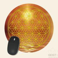 Mousepad-Blume-des-Lebens-Motiv-Manipura-bedruckt-1