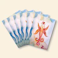 Grußkarten-Set 'Sonnendeva'